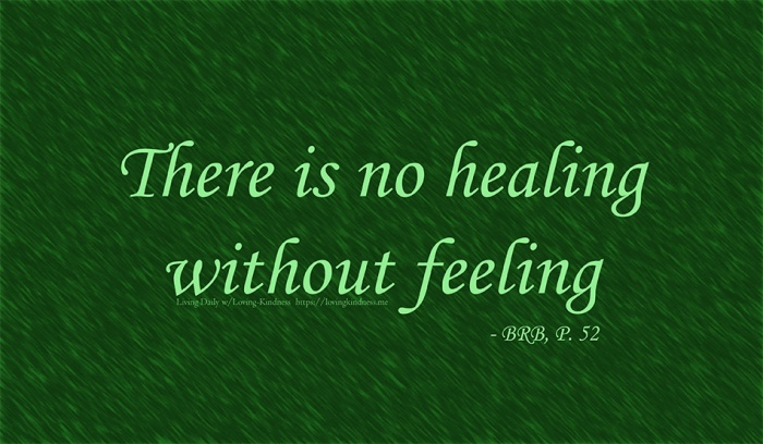 Healing: It's painfulwork